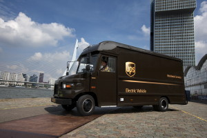UPS electric vehicle 2