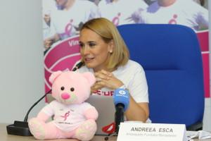 Andreea Esca si Happy Bear